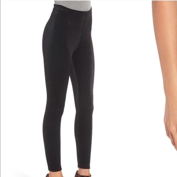 00dc094d4eda5a Commando Pants | Control Top Velvet Leggings Small | Poshmark